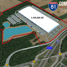 Equus Breaks Ground on 1.1 Million SF Class-A Industrial Facility in Shippensburg, PA